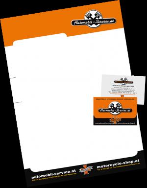 briefpapier visitenkarte